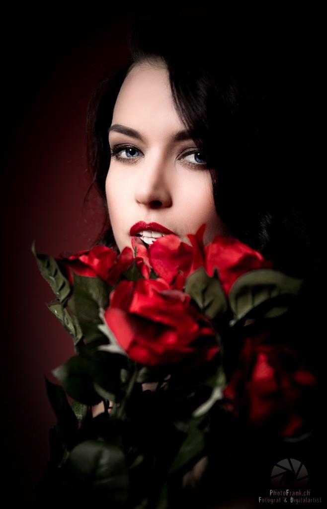 Beauty-Shooting mit Gina Carla