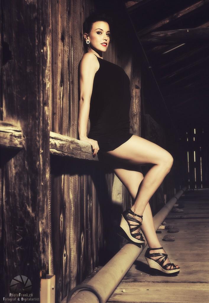 Fotoshooting mit Gina Carla