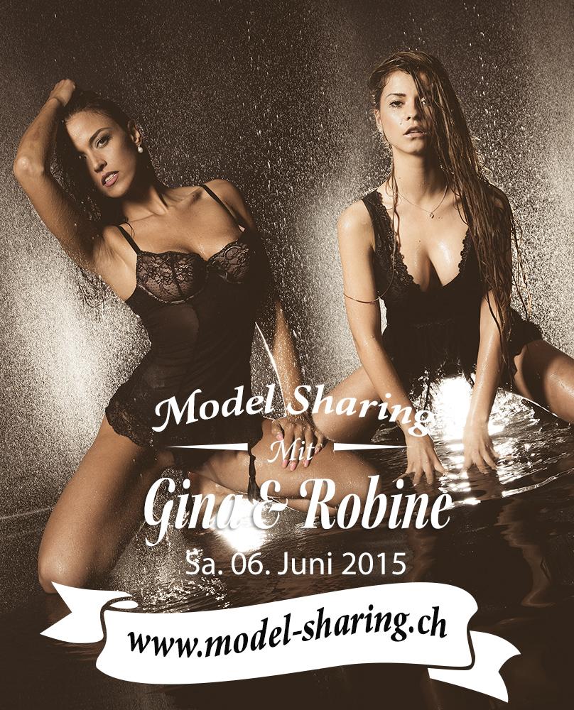 Model Sharing mit Gina und Robine 06 Juni