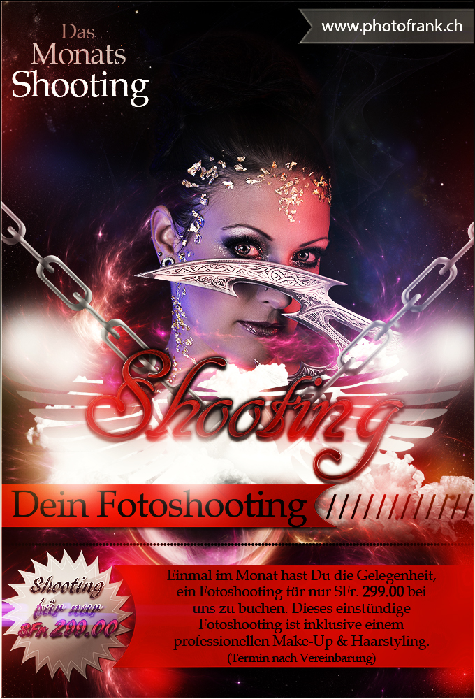 Flyer-Monats-Shooting