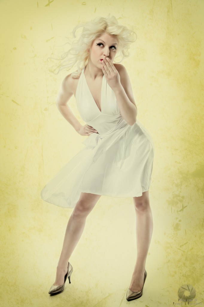Marylin Monroe-Shooting