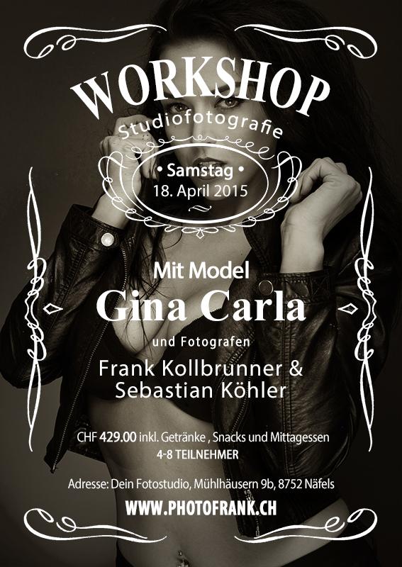 Workshop mit Gina Carla