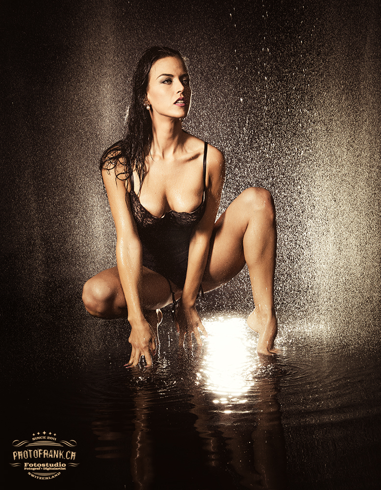 Regen-Shooting mit Gina Carla